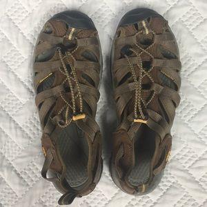KEEN Brown Waterproof Outdoor Sandals W Size 7.5